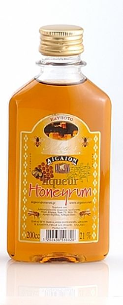 LIQ 21% HONEYRUM pet 200cc