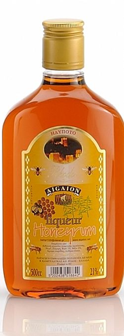 LIQ 21% HONEYRUM pet 500cc